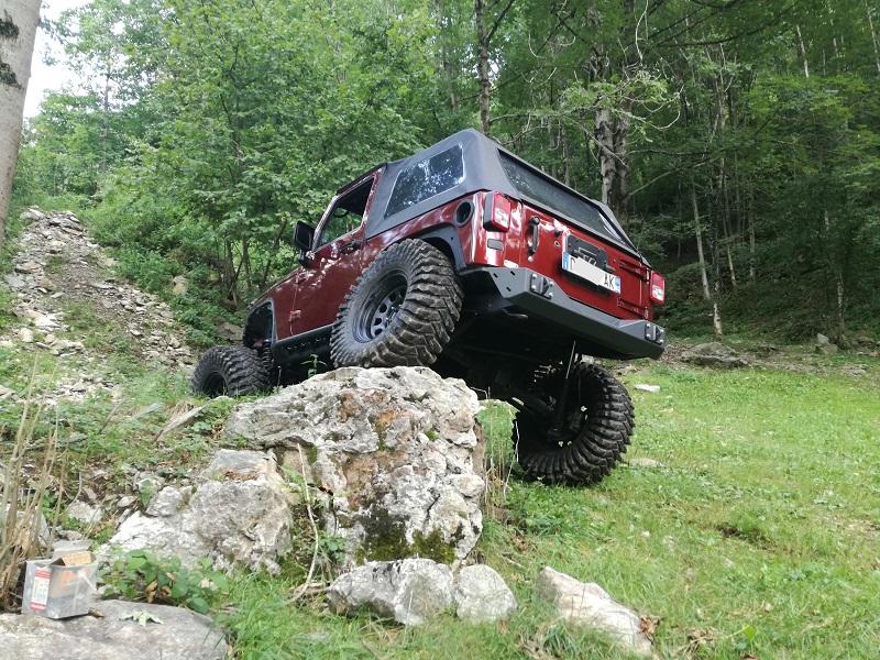 Preparazione Jeep Jk
