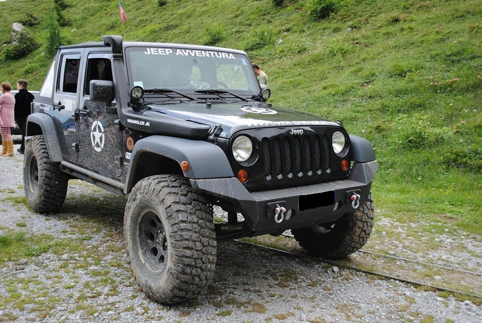 Jeep Wrangler Soft Top >> Paraurti anteriore jeep jk hurricane – Power Garage ...