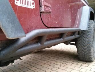 Pedane sottoporta jeep jk archives power garage - Paraspifferi sottoporta automatico ...
