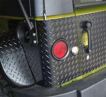 Protezioni angolari per fari led power garage for Fari led per interni