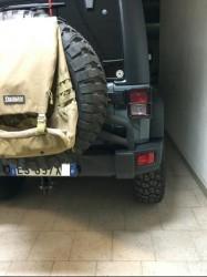 cancello porta ruota di scorta jeep jk foto 1