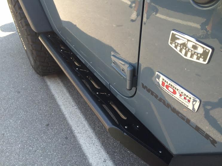Pedane laterali jeep jk power garage preparazione jeep jk - Paraspifferi sottoporta automatico ...