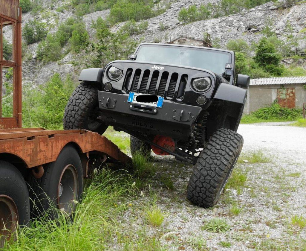 paraurti anteriore modulare jeep jk omologabile 3