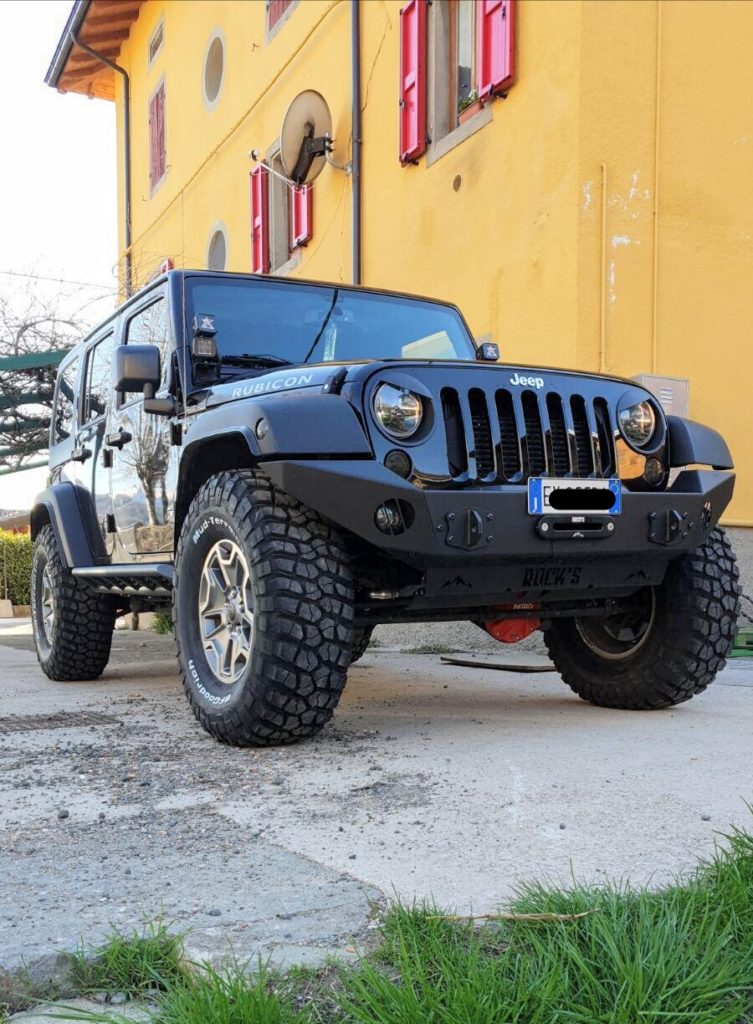 paraurti anteriore modulare jeep jk omologabile