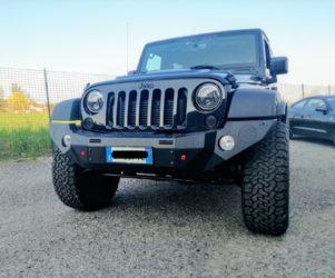 paraurti anteriore stealth jeep jk omologabile 2