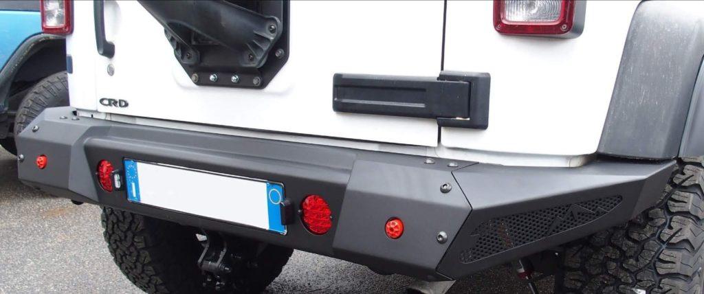 paraurti posteriore jeep wrangler jk omologabile 4