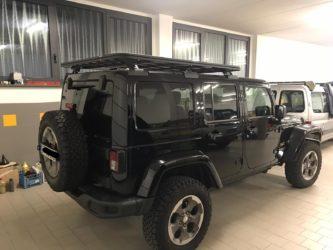 portapacchi rhino back bone upracks jeep wrangler jk 4