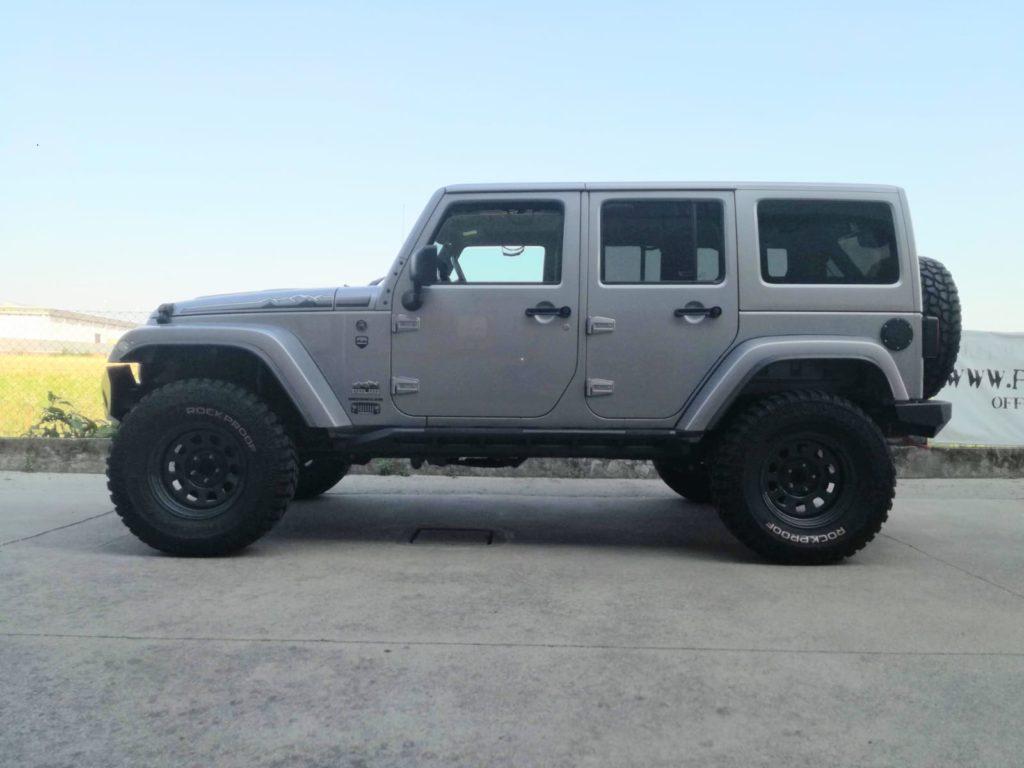 assetto omologabile jeep wrangler jk 5