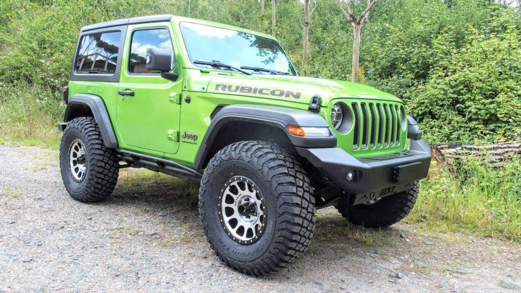 paraurti anteriore jeep wrangler JL