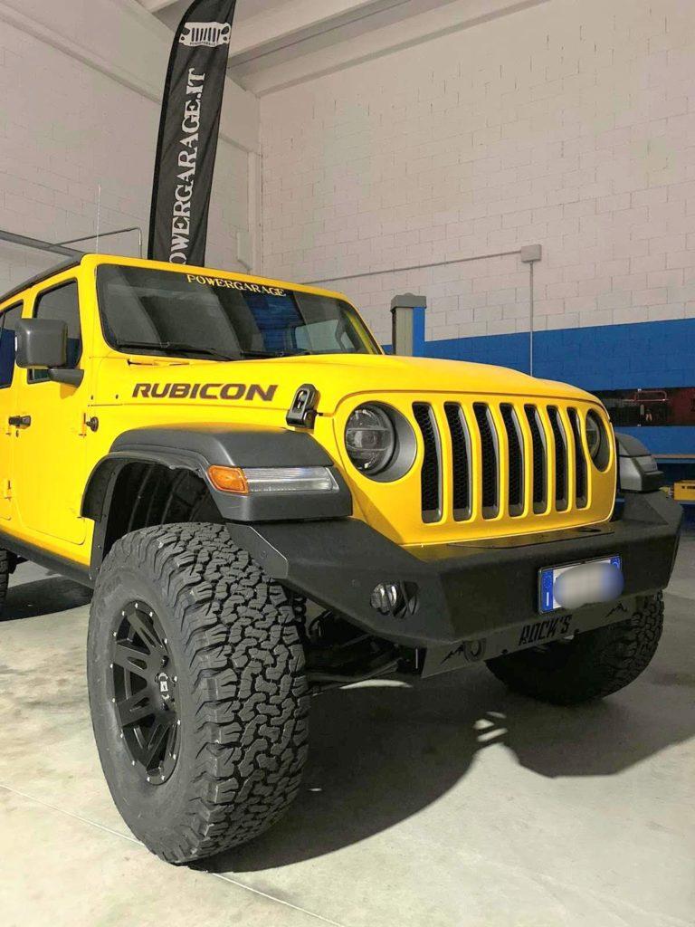 paraurti anteriore omologabile jeep wrangler JL