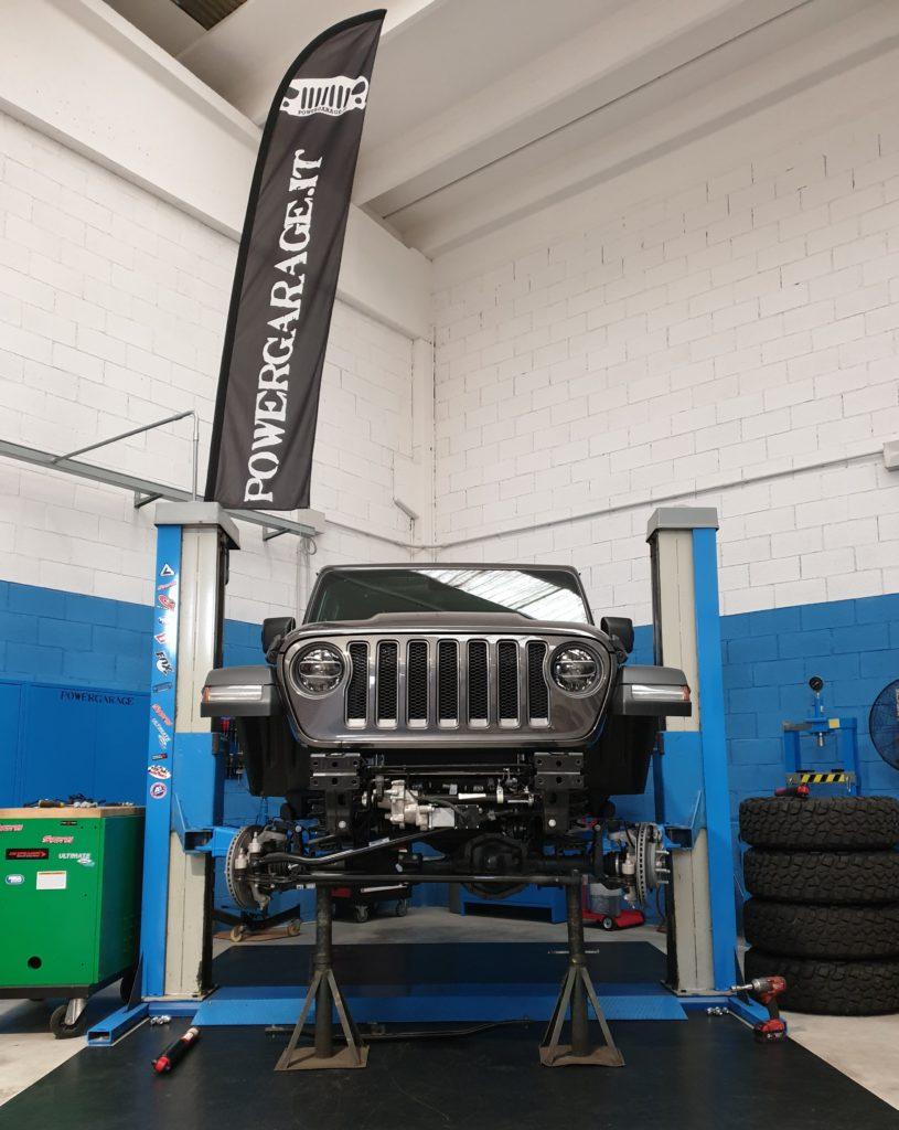Installazione e regolazione assetto Jeep JL
