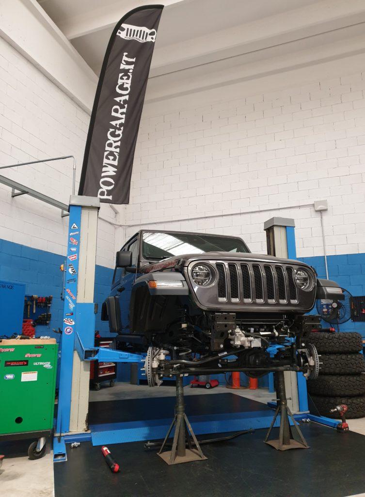 Montaggio e regolazione assetto Jeep JL