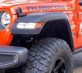 parafanghi high fender jeep wrangler JL 2