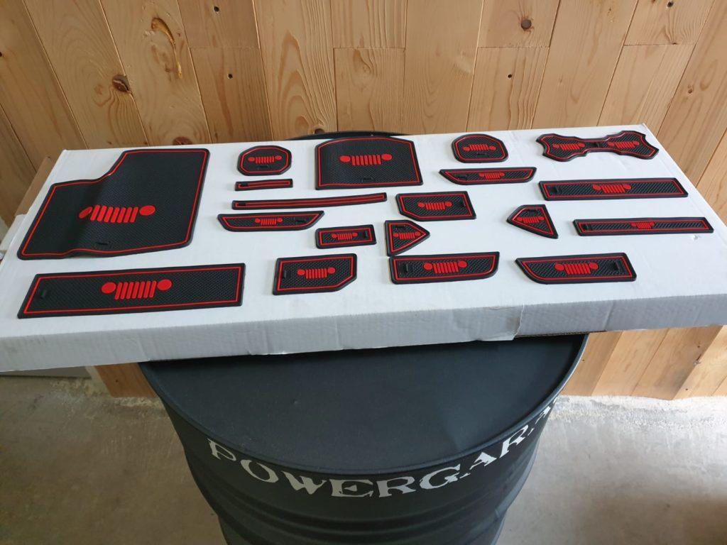 kit pad porta oggetti kit completo