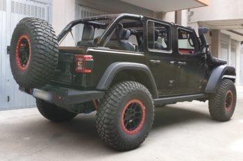 paraurti posteriore omologabile jeep wrangler JL latarale destra
