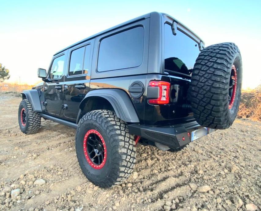 paraurti posteriore omologabile jeep wrangler JL
